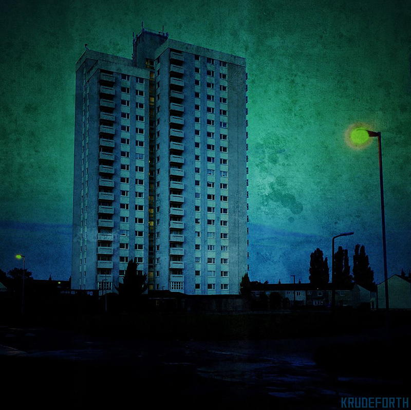 Orchard Park flats in Blue