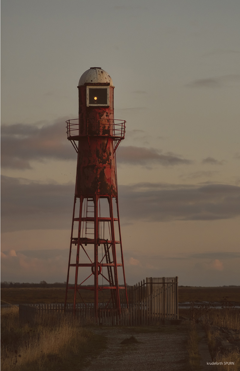 photograph of a lighthouse